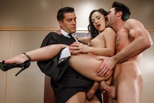 Judge, Jury, And Double Penetrator Kristina Rose, Charles Dera, Ramon