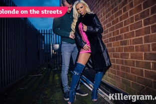 UKStreetWalkers - Barbie Sins Hot Blonde On The Streets