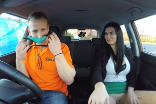 FakeDrivingSchool - Jasmine Jae Examiner Wants It Fast and Furious