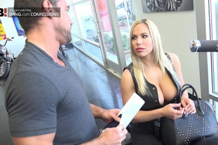 BangConfessions - Olivia Austin Upper Class Lady Becomes Biker Babe Whore