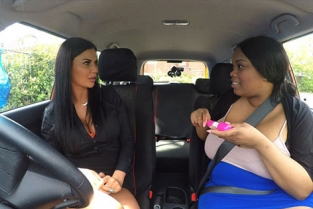 FakeDrivingSchool - Busty Cookie, Jasmine Jae Failed Learner Has Fun with Toys