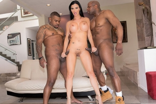 JulesJordan - Jasmine Jae Gets Split Open By Prince & Ricco In An Interracial DP!