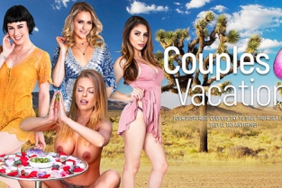 DigitalPlayground - Couples Vacation 2017 Britney Amber, Mia Malkova, Natalia Starr, Nina North, Olive Glass