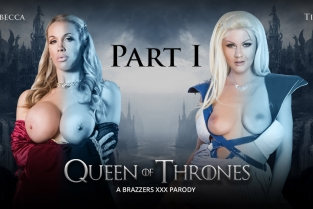 Queen Of Thrones: Part 1 (A XXX Parody) Rebecca Moore, Tina Kay, Danny D