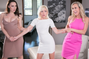 Mommys Girl - Getting Caught: Almost Freaky Brandi Love, Chanel Preston, Eliza Jane