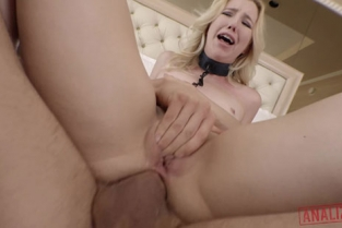 Analized - Samantha Rone Blonde Anal Sex Toy