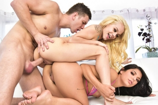 HardX - Elsa Jean, Gina Valentina Make It 3!