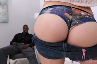 HussieAuditions - Alex Blake First Interracial Experience