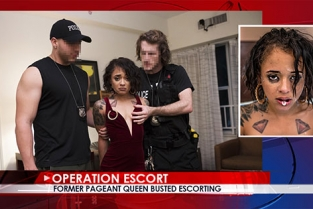 OperationEscort - Holly Hendrix Former Pageant Queen Busted Escorting