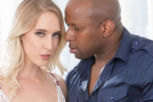 BlackCocksMatter - Cadence Lux Fishnets Babe Loving It