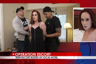 OperationEscort - Alice Coxxx Teen Escort Busted At Local Hotel