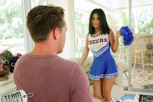 TeamSkeet - Monica Asis Hot Little Cheerleader Exxxtrasmall