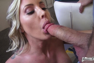 JamesDeen - Samantha Saint Sneak Around The Porn Set