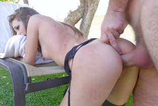 BangGonzo - Kimmy Granger Gets Playful With Cum With Her Tongue After Gonzo Sex