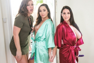 GirlsWay - Strap-On Stories: Strap Trap Maddy OReilly, Karlee Grey, Angela White
