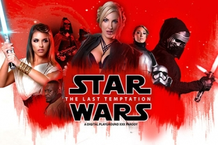 DigitalPlayground - Star Wars: The Last Temptation A DP XXX Parody 2017 Adriana Chechik, Georgie Lyall