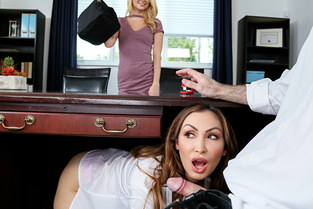 Boss Shares Wife With Hot Secretary Riley Star - Share My BF