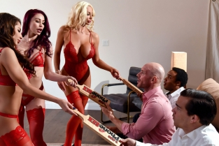 1 800 Phone Sex: Line 8 Madison Ivy, Monique Alexander, Nicolette Shea, Johnny Sins