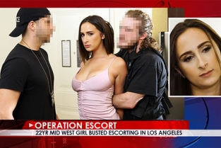 OperationEscort - Ashley Adams 22yr Mid West Girl Busted Escorting in Los Angeles