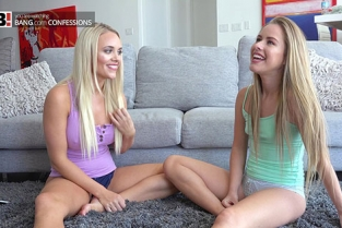 BangConfessions - Alexis Monroe, Lily Ford Love The Cock Meat Special Pizza Delivery