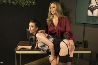 KinkFeatures - Cherry Torn, Julia Ann Julia Ann Takes Down Cherry Torn With Corrective Discipline