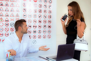 CumloudersDrivingSchool - Taylor Sands Taylor gets an A