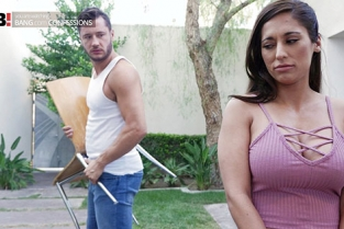 BangConfessions - Reena Sky Big Tits Brunette Reena Sky Gets Dirty In The Garage And Bedroom