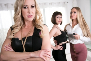 GirlsWay - Showcases: Brandi Love - 2 Scenes in 1 Brandi Love, Jenna Sativa, Nicole Aniston