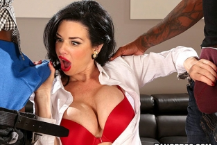 BangBros - Veronica Avluv Realtor Gets Double Penetration From Monstrous Cocks MonstersOfCock