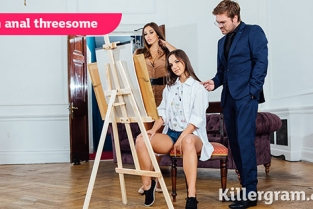 Killergram - Kristy Black, Clea Gaultier An Anal Threesome