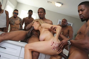 BlacksOnCougars - Erica Lauren Second Appearance
