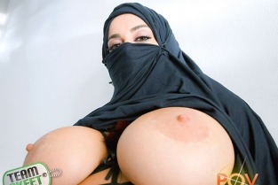 TeamSkeet - Victoria June Busty Arabic Teen Violates Her Religion POVLife