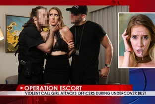 OperationEscort - Cadence Lux Violent Call Girl Attacks Officers During Undercover Bust