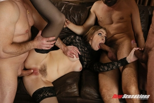 New Sensations - Maya Kendrick Maya Is Ready For A Sausage Party