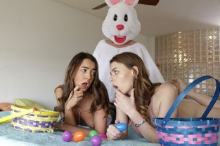 BrattySis - Alex Blake, Lily Adams Creampie Surprise