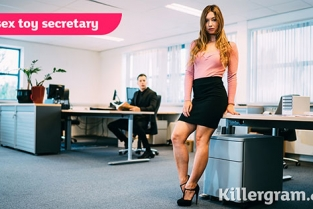 Killergram - Taylor Sands A Sex Toy Secretary