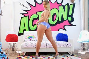 Swallowed - Candice Dare Candice Craves A Huge Load