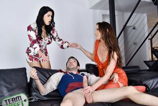 TeamSkeet - Sofie Marie, Monica Sage Treat Me Like You Treat My Stepdaughter BadMilfs