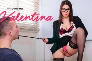 PornoAcademie - Valentina Nappi MMF anal threesome with teacher
