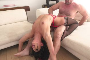 BangGonzo - Gina Valentina Likes Fingers In Her Ass As Her Pussy Is Worked