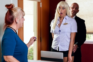 Checking Into Athena Athena Palomino, Johnny Sins