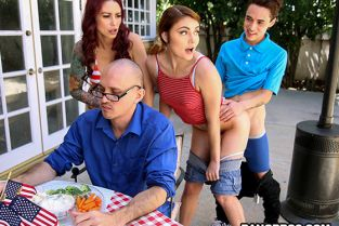 BangBros - Monique Alexander, Adria Rae Awesome 4th Of July Threesome MomIsHorny