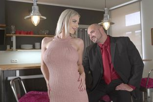 BangGlamkore - Nathaly Cherie Doesn't Stay Dressed Long Before Fucking And Swallowing