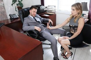 Blackmailed - Kristen Scott Sexy Secretary Blackmailed