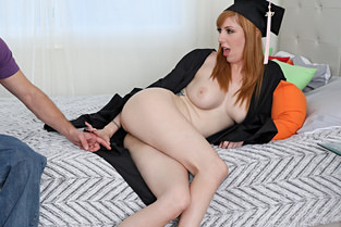 Grad Day Lauren Phillips - Lets Try Anal