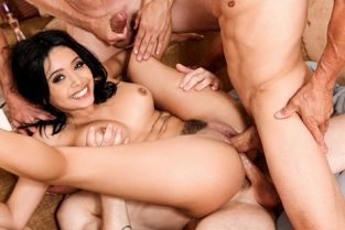 DevilsFilm - Aaliyah Hadid White Out