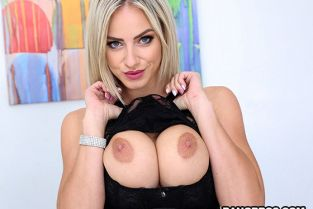 BangBros - Nathaly Cherie Creampie For a Hot Czech Ass BigTitCreamPie