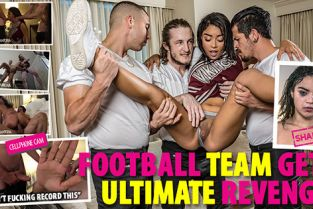 ShamedSluts - Maya Bijou Cheating Cheerleader Gets Baller-Banged
