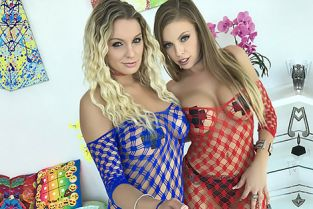 Swallowed - Kenzie Taylor, Britney Amber Double Duty Bj