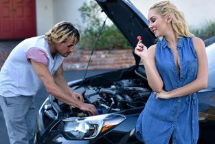 GotMylf - Aaliyah Love Sexy Wife Cheats With A Young Mechanic